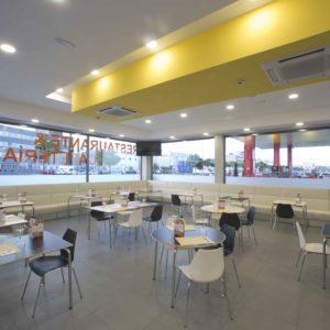 Interior Restaurante Megino