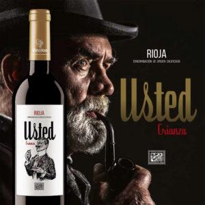 Vino Rioja Crianza Usted